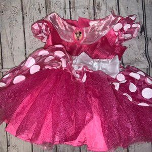 Minnie Mouse 12-18 Month Costume Dress